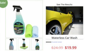 Waterless car wash and wax Eco Car Care LLC Waterless Car Wash & Polish
