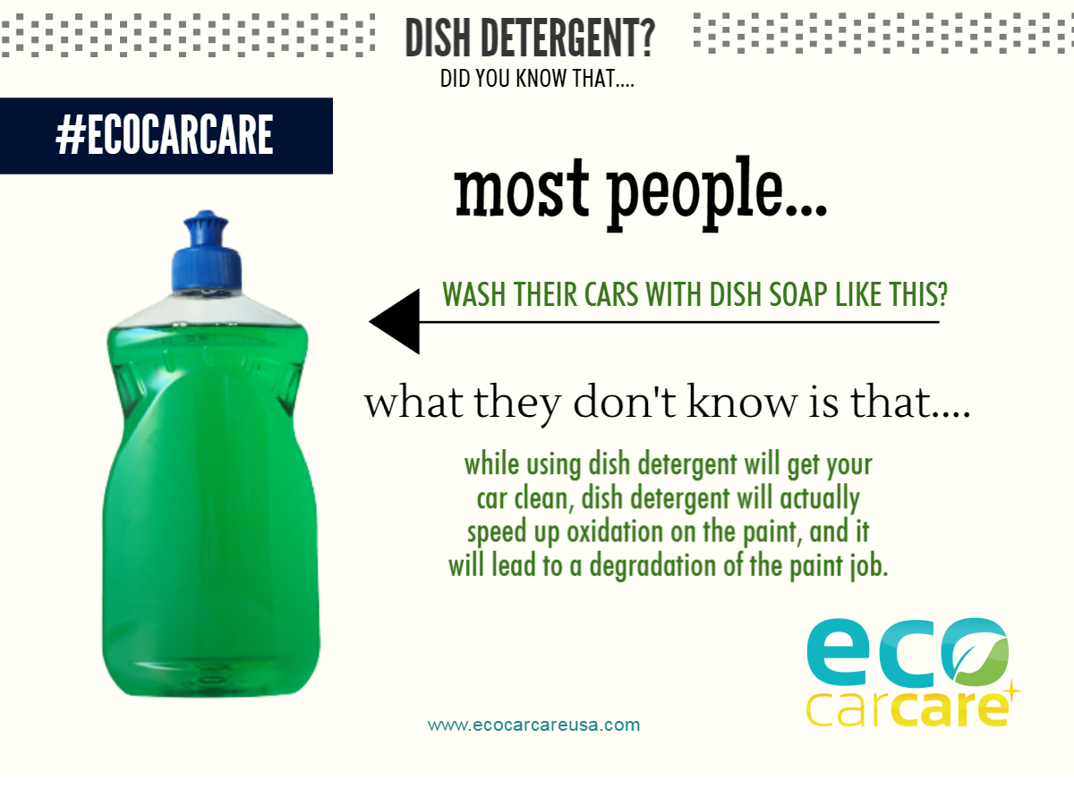 What Kind Of Soap To Wash A Car >> Dish Detergent To Wash Your Car